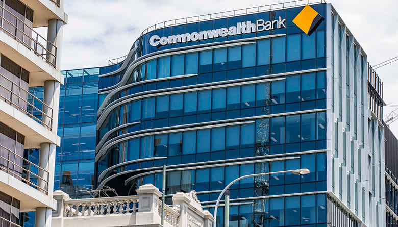 Photo of the new Commonwealth Bank head office building in Darling Square